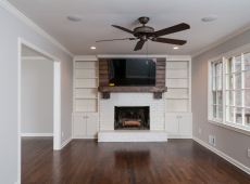Family Room wood flooring