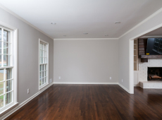 Family Room hardwood flooring